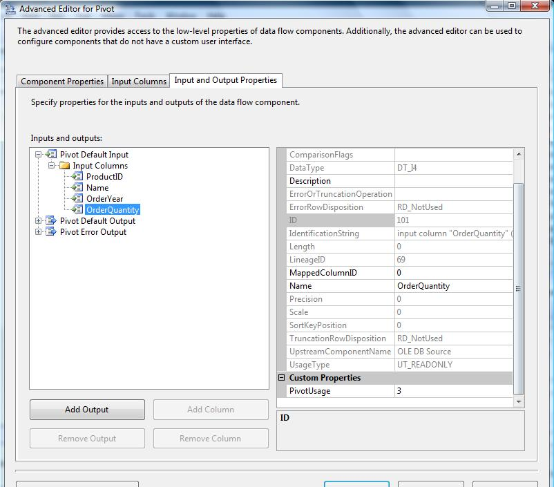 PIVOT Transformation - SSIS - Complete Tutorial - Reza Rad's